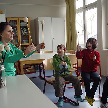 Musikunterricht für behinderte Kinder und Jugendliche